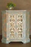 Armário de madeira clássico fotografia de stock
