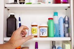 Armário de medicina Imagens de Stock