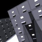 Armários de arquivo - 3D Fotos de Stock