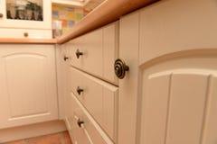 Armários de cozinha Imagem de Stock