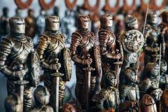 Armé av tenn- soldater Arkivbild
