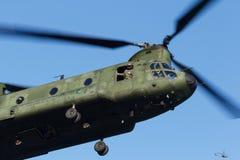 Armé- och flygvapenhelikopterövning Royaltyfri Fotografi