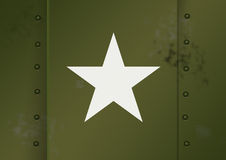 armé oss wwii royaltyfri illustrationer