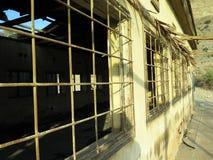 Armébaracken fördärvar i En Gedi, Israel Royaltyfria Foton