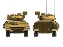 armébehållare Arkivfoton