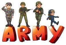 armée Images stock