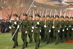 Armée chinoise Images libres de droits