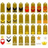 Armée d'Italien de courroies Photos stock