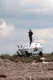 Armée de l'ONU Image libre de droits