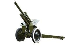 armée de Soviétique d'obusier de 122 millimètres Photo libre de droits