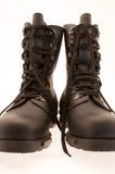 Armée noire/gaines militaires sur le fond blanc Photo libre de droits