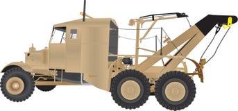 Armée Tow Truck Images stock