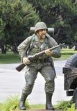 arméinfanterit tjäna som soldat Fotografering för Bildbyråer