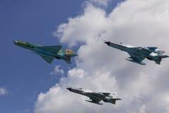 Arméjaktflygplan Royaltyfri Bild