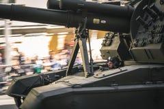armémarschen ståtar rysssoldater Arkivbilder