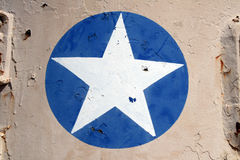 armémilitärstjärna arkivbild