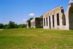 armén inkvartera i en barack gammalt Arkivfoton