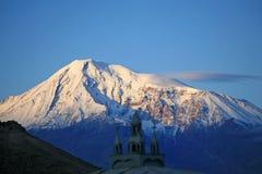 Arménia. Ararat. Manhã fotos de stock