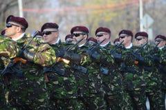 Armésoldater Arkivfoto
