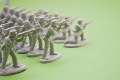 armésoldater kriger Arkivfoto