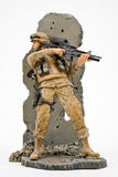 armésolider oss Arkivbild