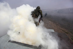 arméutbildning Royaltyfri Fotografi