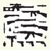 Armévapen Arkivbild