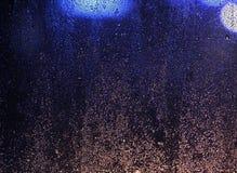 Armónico azul marino profundo muy hermoso, cinemático, cósmico, fondo foto de archivo