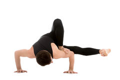 Arm balance exercise for strength Royalty Free Stock Images