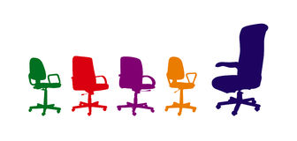 Arm-chairs vector illustration