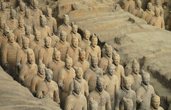 arméporslinterrakotta xian royaltyfria bilder