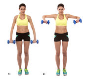 Arm exercise Stock Photography