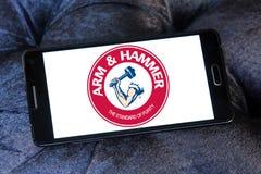 ARM & HAMMER logo Stock Photos