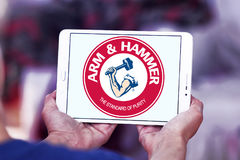 ARM & HAMMER logo Stock Photography