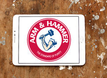 ARM & HAMMER logo Royalty Free Stock Images