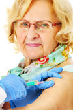 Arm injection Royalty Free Stock Photography