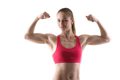 Arm muscles Stock Images
