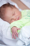 Arm of newborn baby Royalty Free Stock Photos