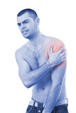 Arm pain Stock Image