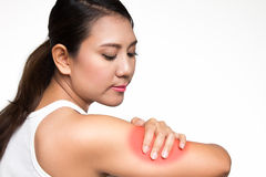 Arm pain Stock Images