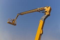 The Arm and Platform of Yellow Picker Stock Photography