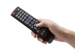 Arm with remote control Stock Photos