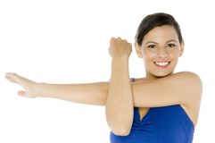 Arm Stretch Royalty Free Stock Image