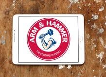 ARM- u. HAMMER-Logo lizenzfreie stockbilder