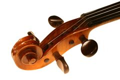 Arm - violin Royalty Free Stock Photo