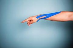 Free Arm With Kinesio Tape Royalty Free Stock Image - 44621146