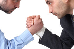 Arm Wrestling Royalty Free Stock Image