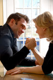 Arm wrestling Royalty Free Stock Photography