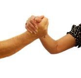 Arm Wrestling Stock Images