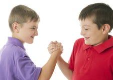 Arm wrestling Royalty Free Stock Photos